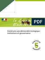 Grenelle Gouvernance _rapport