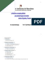 Tabajo de Investigación Doctorado en Comunicación Audiovisual y Publicidad UAB
