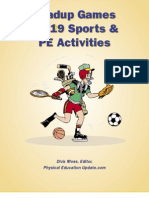 Leadup Games for 19 Sports & PE Activities