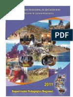 Supervision Pedagogica Regional DREP 2011 FINAL
