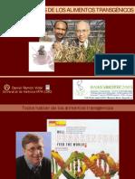 Luces y sombras de los alimentos transgénicos (Daniel Ramón Vidal)