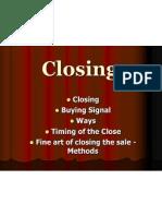 Mktg Chapter 6 Closing 2012