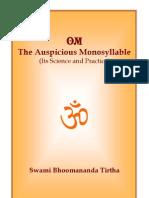 Om Auspicious Monosyllable