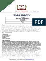Ana Maria Luque - Calidad Educativa