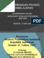 Standar Proses Pembelajaran - Presentasi