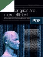 Smarter Grids R More Efficient - ABB Review - 2009