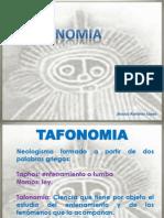 TAFONOMIA (OSTEOLOGIA)