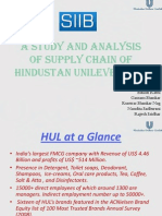 HUL Supply Chain