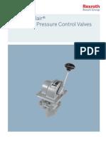 pneumatic pressure control valve H controlair rexroth