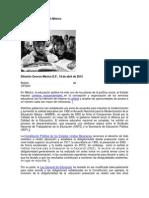 Reformas educativas en México