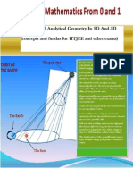 Calculus and Analytical Geometry in 2D and 3D Preview