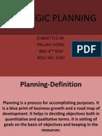 Planning Definition
