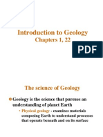 Chapter I Introduction to Geology