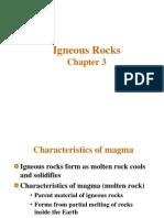 Chapter III Igneous Rocks