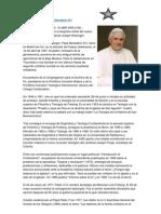 Biografia Del Papa Benedicto