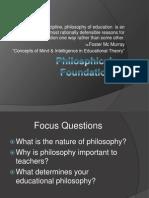 Philosphical Foundation