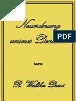Darre, Richard - Neuordnung Unseres Denkens (20 S., Text)