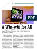 Cable TV Digitization - A Win-win for All
