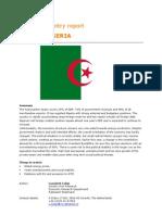 Algeria (Country Report)