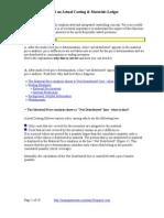 7256942 COPC Actual Costing FAQ