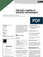 INF solvats naphta & solvants aromatiques _fiche toxicologique ft106 _inrs1999