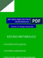 3.1 METABOLISMO PACIENTE
