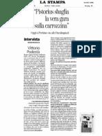 Paralimpiadi, handbike - Pistorius sbaglia - intervista a Vittorio Podestà