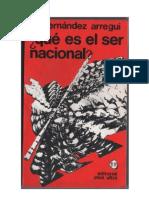¿QUE ES EL SER NACIONAL? (La conciencia histórica iberoamericana)- Juan José Hernández Arregui