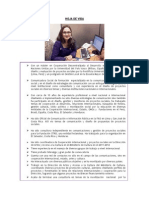 Curriculum Fabiola Bernardo Agosto 2012