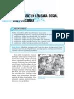 4. Bentuk-Bentuk Lembaga Sosial Dan Fungsinya