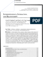 Interdependence, Interaction, And Relationships