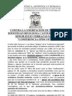 CATÓLICOS EN BOLIVIA