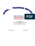 Reliance Communications Market Analysis of Smes Preferences Towards It Solutions