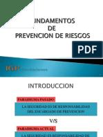 Fundamento de Prevención Parte I