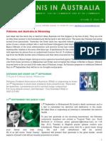 Pakistanis in Australia Vol2 Issue 18 2012