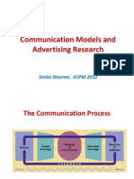 Communication Models and Advertising Research