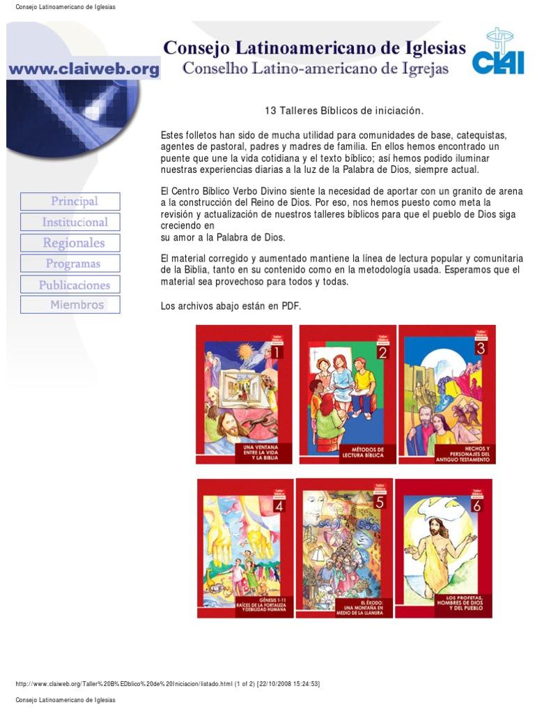 Clai - Talleres Biblicos de Iniciacion