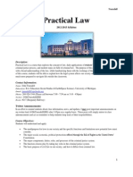 Practical Law Syllabus Short Version