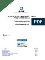 Preguntas y respuestas - Declaraciones y pagos Personas Físicas 2012