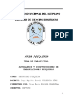 ASTILLEROS Y CONSTRUCCION DE EMBARCACIONES PESQUERAS