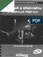 Guitarra & Bandoneon - 13 Arreglos Para Duo - JPR504