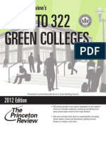 2012 Guide to 322 Green Colleges