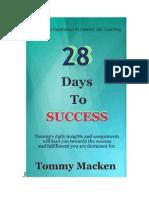 28 Days Success-  Tommy Macken