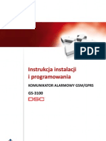 Dsc Gs3100 Inst