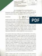 DENUNCIA DE SUPUESTAS IRREGULARIDADES DEL MAGISTRADO ORLANDO ATEORTUA DIAZ