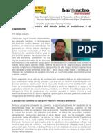Diego Olivera-Venezuela Centra El Debate Entre El Socialismo y El Capitalismo