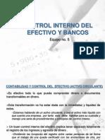Control Inventario y Efectos en Bancos