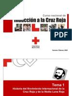 CURSO DE INDUCCIÓN CRUZ ROJA