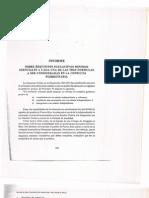 Informe sobre Requisitos Sustantivos Mínimos esenciales del Colegio de Abogados 1963
