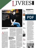 Supplément Le Monde des livres 2012.08.31